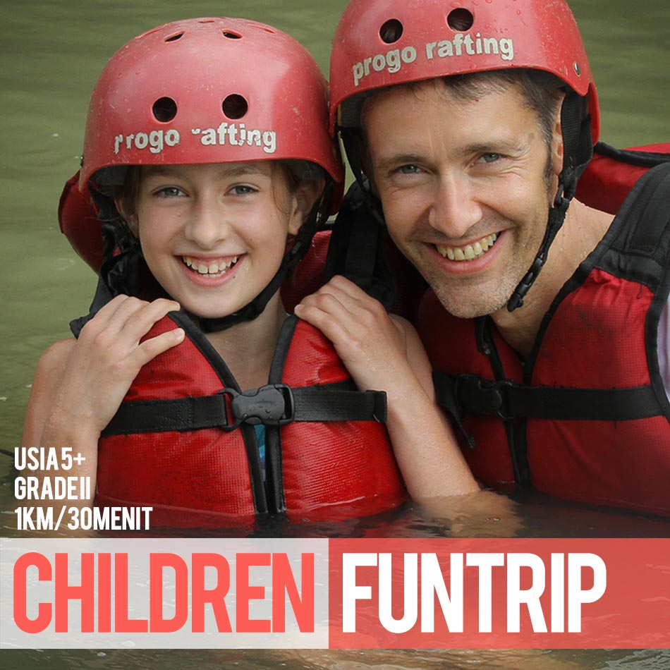 Children Fun Rafting